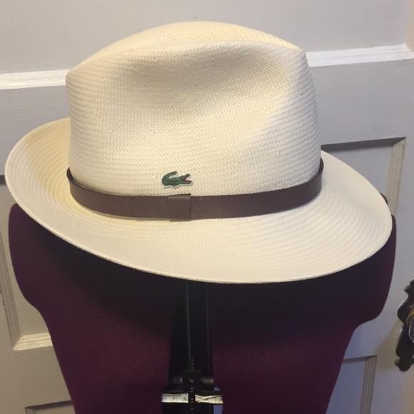 ba6fd14351b Lacoste Other - Lacoste UNISEX SPORT MIAMI OPEN WOVEN TENNIS HAT